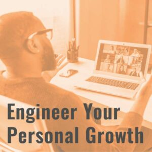 Engineer Your Personal Growth icon.