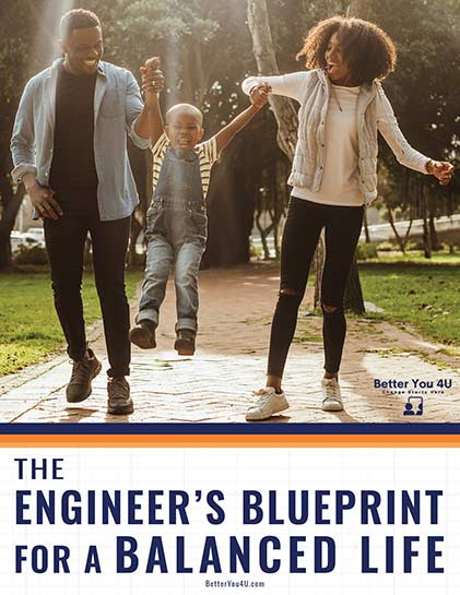 Cover of The Engineer's Blueprint for a Balanced Life.
